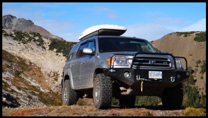 Flagship on toyota sequoia