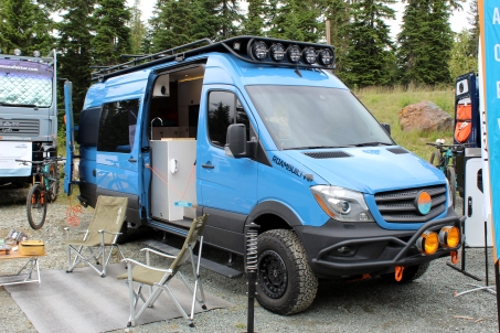 The market for camperizing the Sprinter platform continues to grow.