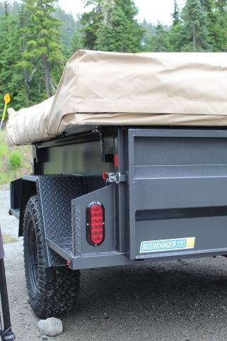 Kakadu's Bushranger off road trailer.